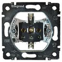 Механизм розетки 2К+З со шторками и крышкой Legrand Galea Life 775921