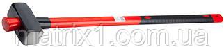 Кувалда, 4000 г, фибергласовая обгумована ручка// MTX MASTER