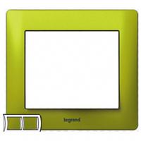 Рамка 2 поста magic green  Legrand Galea Life 771922