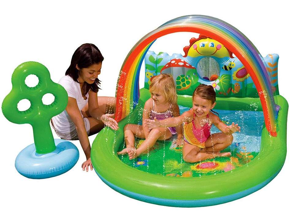 Бассейн-Игровой центр INTEX 57421NP 155х130х84см