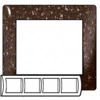Рамка 4 поста cocoa brown (Темное какао) Legrand Galea Life 771704