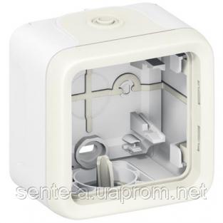 Коробка для накладного монтажа белая 69689 IP65 IK07 Legrand Plexo