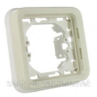 Суппорт с рамкой для встроенного монтажа белый 69692 IP65 IK07 Legrand Plexo