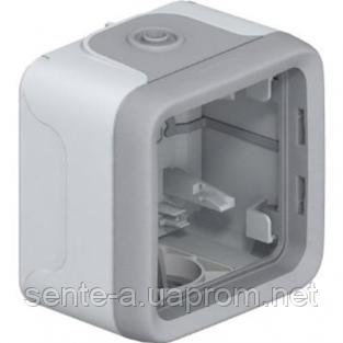 Коробка для накладного монтажа серая 69651 IP65 IK07 Legrand Plexo