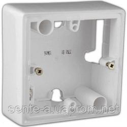 Коробка для накладного монтажа 1 пост Legrand Valena белый 776181