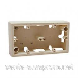 Коробка для накладного монтажа 2 пост Legrand Valena слоновая кость 776132