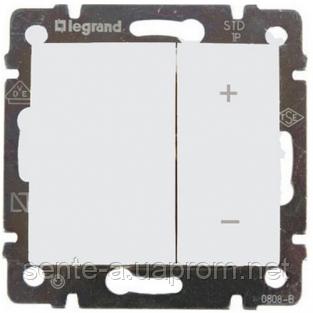 Механизм диммера нажимного универсального белый 40-400Вт 770062 Legrand Valena