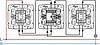 Механизм перекрестного 1-клавишного переключателя с подсветкой алюминий 770148 Legrand Valena, фото 3