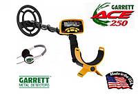 Металошукач Garrett ACE 250 + навушники, фото 1