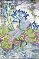 Схема для вышивки бисером Лилии на воде