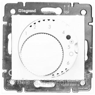 Механизм термостата для тёплых полов белый 770091 Legrand Valena