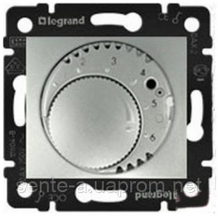 Механизм термостата для тёплых полов алюминий 770291 Legrand Valena