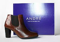 Женские ботинки челси Andre оригинал натуральная кожа 36р