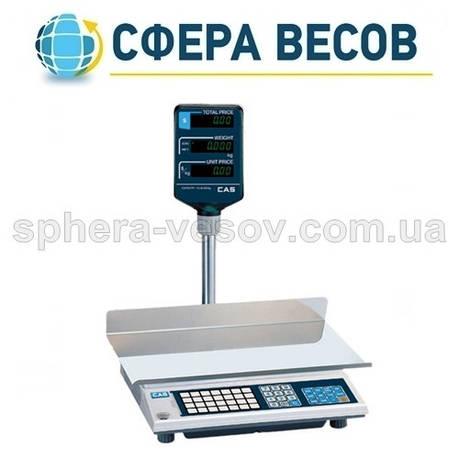 Весы торговые CAS-AP-EX LT (30 кг) , фото 2
