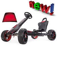 Детский картинг FERBEDO Go-Cart X-Stream Devil надувные колеса Германия черный