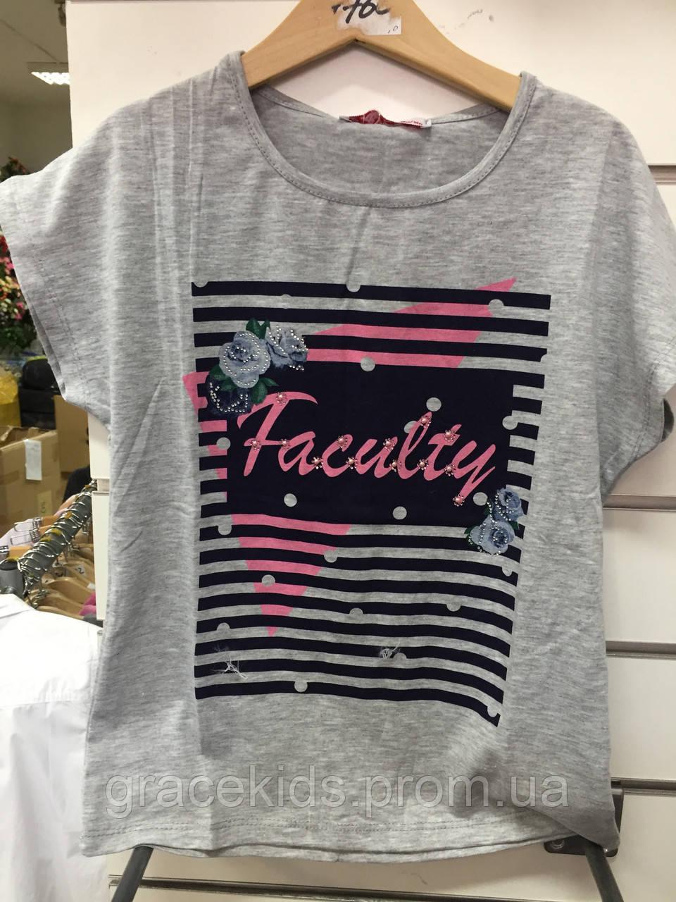 Подростковая футболка для девочек