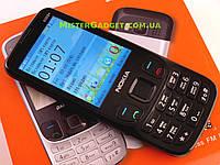 Мобильный телефон Nokia 6303+ Черный. Экран 2.8'' GPRS копия Нокия 6303 MicroUSB