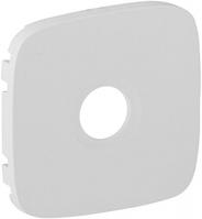 Лицевая панель телевизионной TV розетки белая 754765 Legrand Valena Allure
