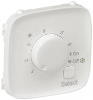 Лицевая панель термостата для теплых полов с датчиком перламутр 755329 Legrand Valena Allure