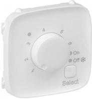 Лицевая панель термостата для теплых полов с датчиком белая 755325 Legrand Valena Allure