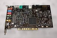 Звуковая карта PCI Creative Audigy 2 24-bit SB0350 с ОЧЕНЬ КАЧЕСТВЕННЫМ ЗВУЧАНИЕМ Windows 7 ready AUDIGY2