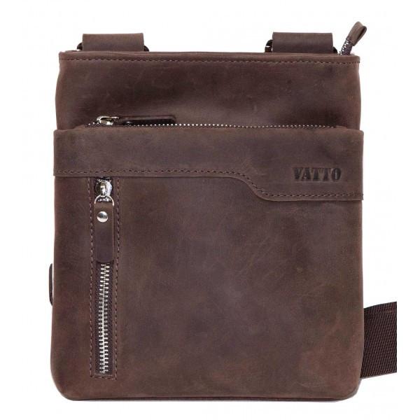 Мужская сумка из матовой кожи Vatto Mk13 Kr450 (Украина)