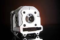 Головка цилиндра (в сборе) Yaben GY6 100 с клапанами, фото 1