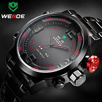 Мужские кварцевые часы WEIDE Sport Watch WH-2309 красные