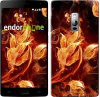"""Чехол на OnePlus 2 Огненные цветы """"1100u-386"""""""