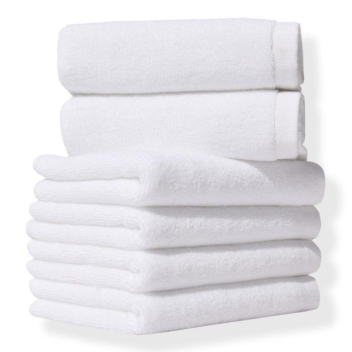 Полотенце Lotus Отель - Белый 50*90 (16/1) 450 г/м2