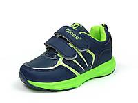 Детская спортивная обувь кроссовки Clibee:F-612 т.Синий+Салатовый
