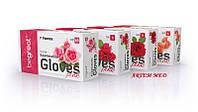 Нитриловые перчатки розовые, M