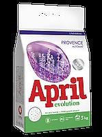 """Универсальный стиральный порошок """"April Evolution"""" Provence, автомат, 5кг"""