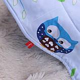 """Демисезонный конверт-одеяло для новорожденных """"Valleri """" (совенок), фото 4"""