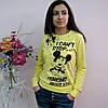 """Батник из натурального трикотажа-двухнитки. """"Febe"""", Турция. Женские батники, свитера молодежные"""