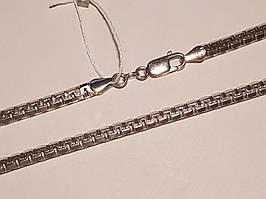 Серебряная цепочка (Венецианка). Артикул 917Р 2/55