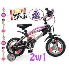 Дитячий велосипед + знімні колеса Іnjusa 12002
