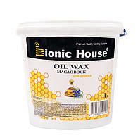 Масло для дерева с воском Bionic House, 1л