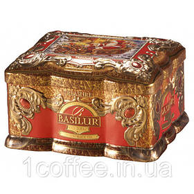 """Чай Basilur """"Шкатулка"""" Красный Топаз ж/б 100г"""