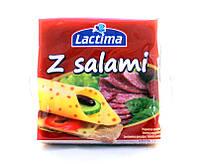 Сыр Lactima с салями, 130 г