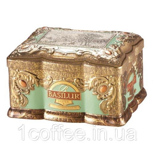 """Чай Basilur """"Шкатулка"""" Яшма ж/б 100г"""