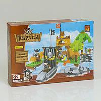 Конструктор Пираты AUSINI, 226 дет, в коробке. Детский конструктор для мальчиков