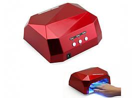 Лампа  гибридная 36 Ват УФ/LED Diamond CCFL LED разные цвета