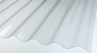 Волнопласт волновой 1,5*20 м. прозрачный, фото 1