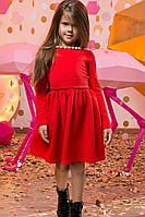 """Детское стильное короткое платье 2-102 """"Куколка Круги"""" в расцветках"""