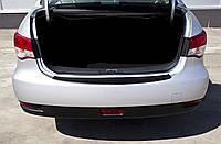 Накладка на задний бампер Nissan Almera 2014+ г.в. Нисан Альмера