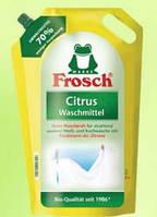 Стиральный порошок Frosch для белого белья. Цитрус. Германия