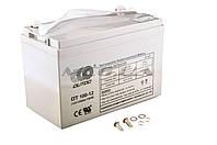 """Аккумулятор   12V 100А   AGM   (330x172x223, серый)   """"OUTDO"""""""