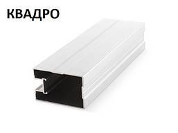 Раздвижная система для шкафов купе профиль вертикальный КВАДРО