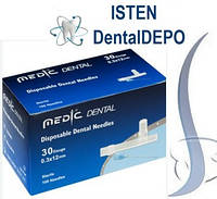 Иголки карпульные Medic Dental 100 шт. упак.